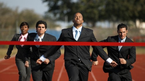 Business-Executives-Running-A-Race